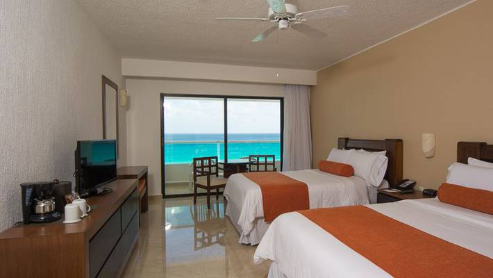 De lujo vista mar hotel flamingo cancun resort cancún